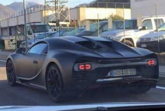 Bugatti Chiron se afișează pe străzile din Italia sub forma unui prototip; iată cum arată succesorul lui Veyron
