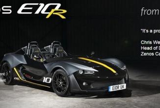 Zenos E10R este un automobil sport cu un motor de Ford Focus RS