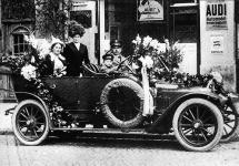 Istoria automobilului; Type A, primul vehicul Audi ce avea să fie dezvăluit în primăvara anului 1910