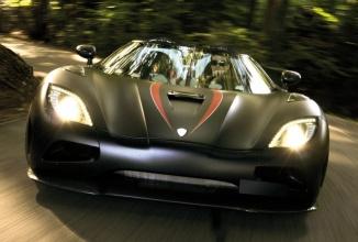 Bestia neagră Koenigsegg Agera X îşi turează motorul la maxim pe circuitul Spa de Formula 1(Video)