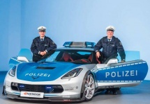 Poliţia germană alege un Corvette drept noua sa maşină oficială, în defavoarea unui brand german