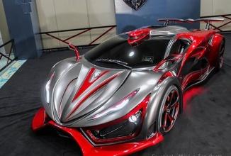 Această supermaşină din Mexic arată ca un vehicul condus de Maleficent