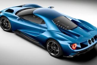 Noul bolid Ford GT va fi prezentat în cadrul show-ului CES 2016 din ianuarie