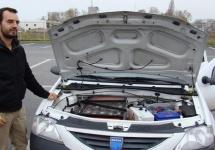 Există Dacia Logan 100% electrică, circulând pe străzile din Piteşti după ce a primit modificări de la un francez (Video)