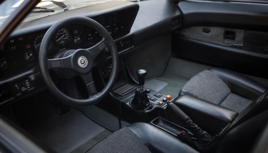 Interior BMW M1
