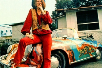 Modelul Porsche pictat psihedelic al lui Janis Joplin din 1964 a fost vândut la licitaţie pentru 1.76 milioane de dolari