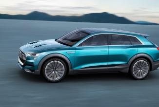 Audi ar putea dezvălui conceptul Q6 H-tron în cadrul show-ului auto din Detroit; SUV cu propulsie pe hidrogen