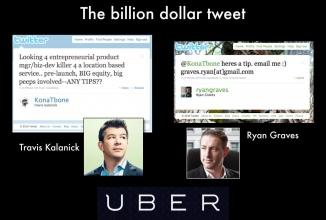 Iată tweetul legendar din 2010 care a pus în legătură minţile luminate ce conduc Uber