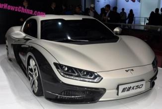 Qiantu K50 este o supermaşină chineză cu motor electric, care va costa 115.000 de dolari