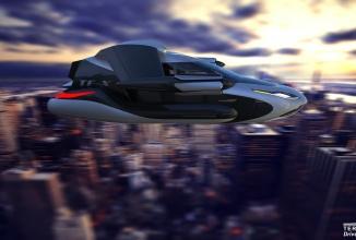 Automobilul zburător tocmai a primit aprobarea pentru testare: Terrafugia TF-X