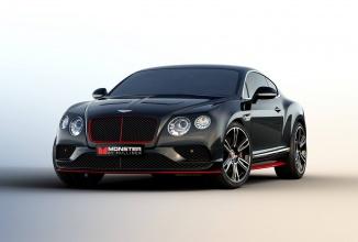CES 2016: Bentley lansează o variantă de model Continental cu o acustică high end cu tehnologie Monster