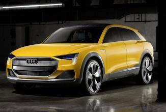 Detroit Motor Show: Audi prezintă conceptul h-tron Quattro, un SUV cu propulsie pe hidrogen