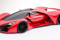 Imagini Concept Ferrari F80 Futurist 2016