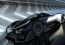 Faraday Future prezintă bolidul concept FFZERO1; vehicul electric cu 1000 cai putere sub capotă