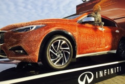 Imagini Infiniti Q30 (opera de artă) la London Art Fair 2016