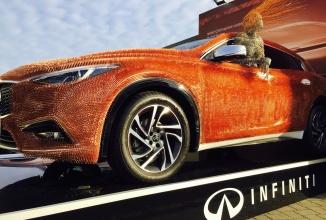 Infiniti aduce un automobil-operă de artă la expoziţia London Art Fair 2016