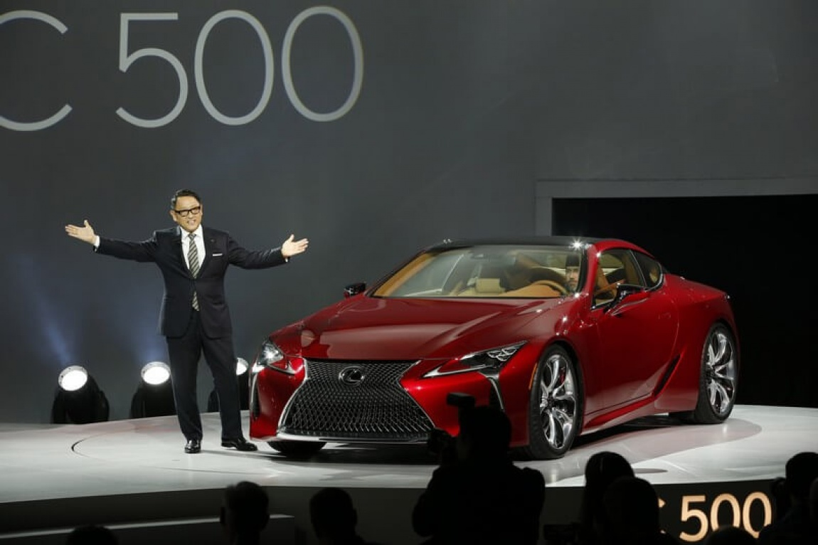 Lexus LC 500 imagini oficiale de la Detroit Motor Show 2016