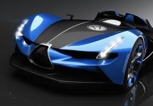 Un Bugatti Roadster concept pune pe jar pasionaţii auto, vine de la un designer brazilian
