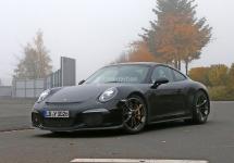 Noul Porsche 911R ar putea debuta oficial în cadrul târgului auto din Geneva ce are loc în martie