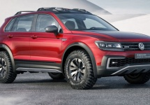 Volkswagen Tiguan GTE Active e un concept pregătit de cele mai dure condiţii meteo; Prezentat la Detroit Auto Show 2016