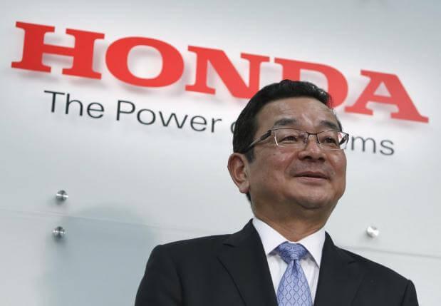 CEO Honda (declin Hodna)