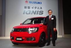 Suzuki lansează noul crossover CUV Ignis, cu suport Apple CarPlay la pachet