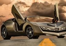 Primul bolid din Abu Dhabi se dezvăluie sub forma unui concept; Elibriea ar putea fi noul bat-mobile