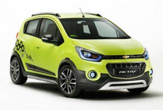Chevrolet lansează sedanul concept Essentia şi Beat Activ în cadrul unui show auto din India