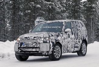 O versiune mai ușoară a lui Land Rover Discovery ni se prezintă în fotografii spion
