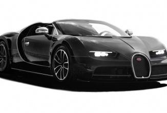 Bugatti Chiron ar putea primi și o versiune cabrio eventual; vedem câteva randări ale sale