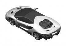Imagini preluate din brevetele Lamborghini ar putea oferi detalii despre designul lui Lamborghini Centenario; Nu suntem impresionaţi