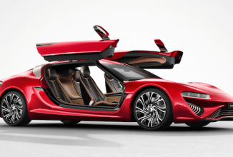 QUANTiNO este un automobil concept ce folosește combustibil electrolit