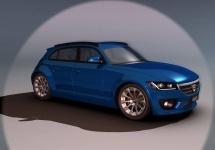 Dacia Hoinar, un concept inedit pentru hatchback-ul românesc Sandero; iată cum ar putea arăta viitorul