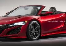 Honda NSX Roadster primeşte imagini 3D şi un design nou de la un respectat artist grafic