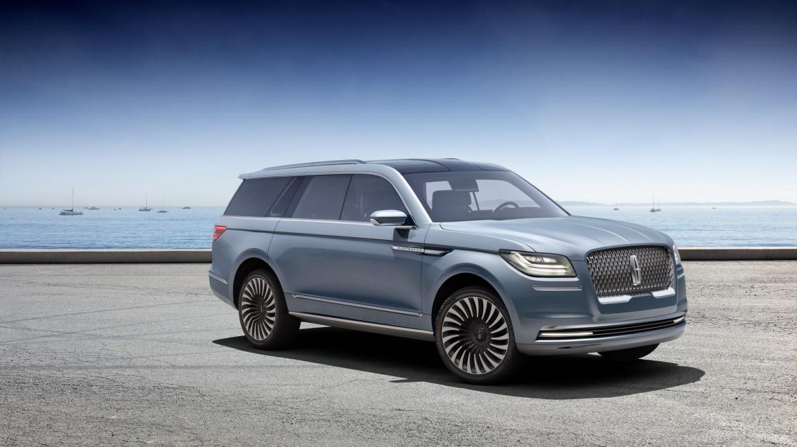 Imagini oficiale Lincoln Navigator Concept 2016