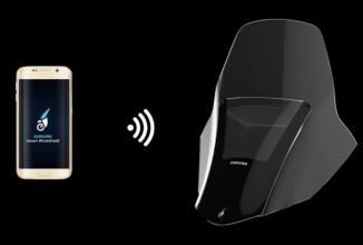 Samsung creează primul parbriz smart cu HUD bazat pe Tizen pentru motociclete (Video)