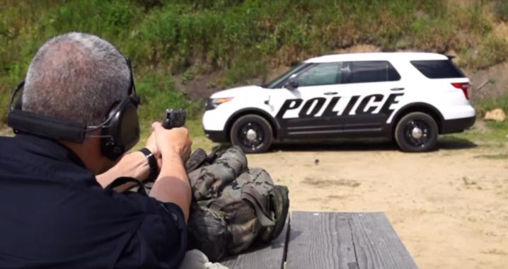Sistem antiglont Ford Politie