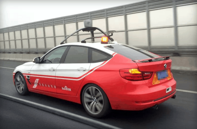 baidu self drive car