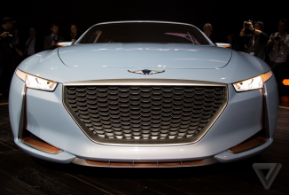 Genesis prezintă un nou sedan sport luxos, numit New York Concept (Video)