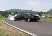 Limuzina preşedintelui SUA ajunge în jocul de curse Forza Motorsport 6 şi face drifturi… cu spatele! (Video)