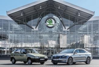 Skoda sărbătorește 25 de ani de activitate sub patronajul grupului Volkswagen