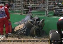 Fernando Alonso scapă nevătămat după un accident groaznic la Marele Premiu al Australiei de azi (Video)