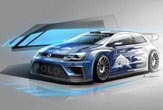 Volkswagen Polo R WRC 2017 primeşte o schiţă-concept ce arată excelent: mai uşor, mai lat şi mai puternic