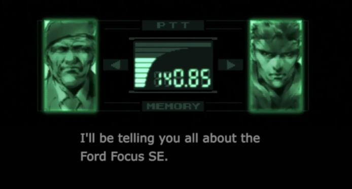 David-Hayter-Solid-Snake-Ford-Commercial