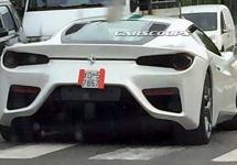 Un posibil model Ferrari Dino V6 Turbo de nouă generaţie ar fi fost fotografiat live