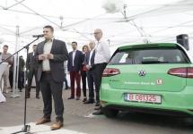 Kaufland anunţă lansarea primei reţele publice de staţii de încărcare rapidă pentru automobile electrice din România