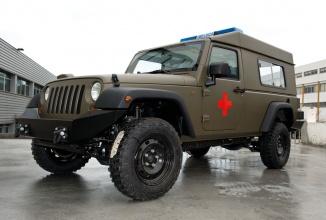 Grupul Fiat-Chrysler ar putea produce Jeep-uri militare în România