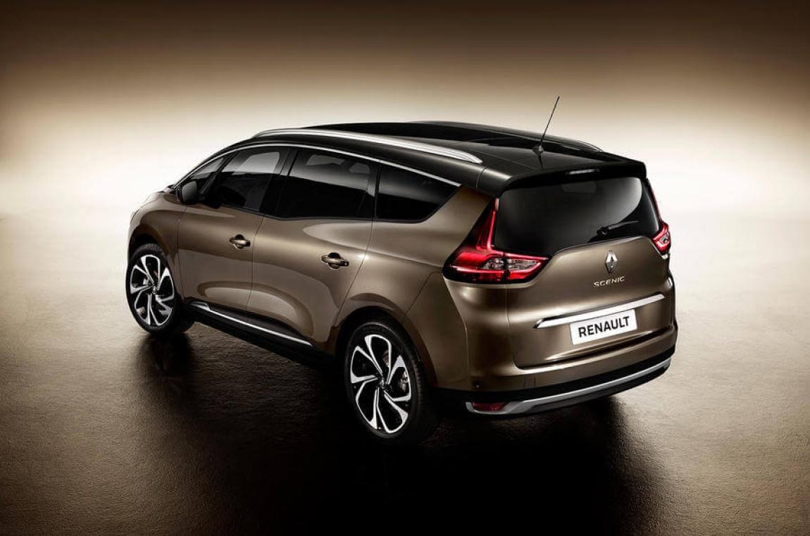 Imagini oficiale 2017 Renault Grand Scenic