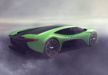 Aston Martin ar putea lansa o mașină preluată din filmele SF; Randările expun un design impresionant