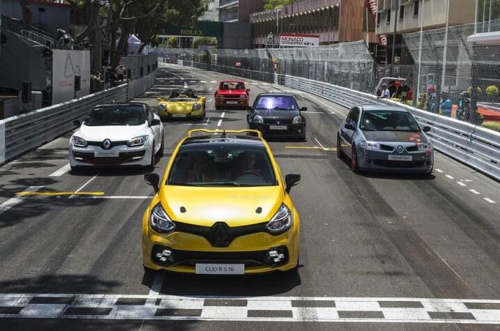Noul Renault Clio RS16 in Grand Prixul din Monaco
